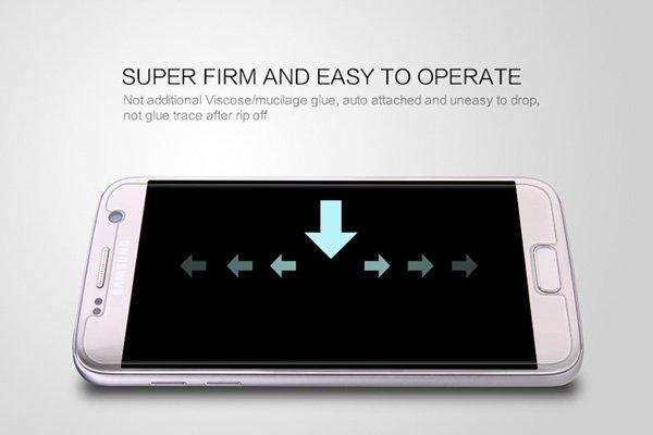 【ネコポス送料無料】Galaxy S7 強化ガラスフィルム ナノコーティング 硬度9H  [5]