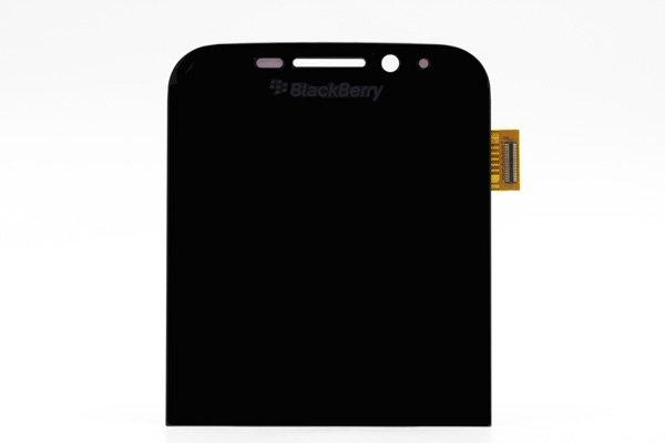 Blackberry Classic (Q20) フロントパネル交換修理 ブラック [1]