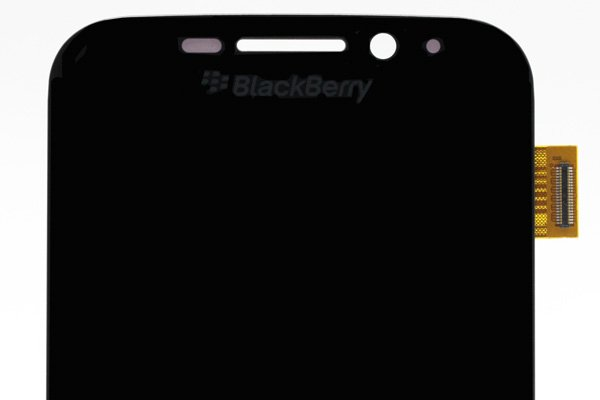 Blackberry Classic (Q20) フロントパネル交換修理 ブラック [3]