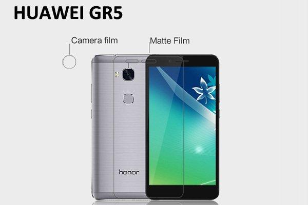 【ネコポス送料無料】HUAWEI GR5 液晶保護フィルムセット アンチグレアタイプ  [1]