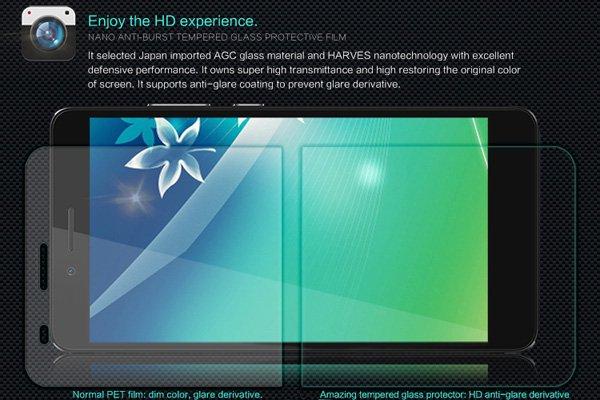 【ネコポス送料無料】HUAWEI GR5 強化ガラスフィルム ナノコーティング 硬度9H  [3]