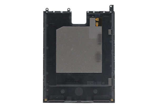 【ネコポス送料無料】Blackberry Passport (Q30) バックカバー ブラック [2]