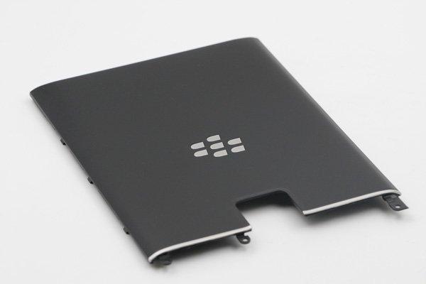【ネコポス送料無料】Blackberry Passport (Q30) バックカバー ブラック [3]