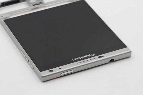 Blackberry Passport Silver Edition フロントパネルASSY [6]