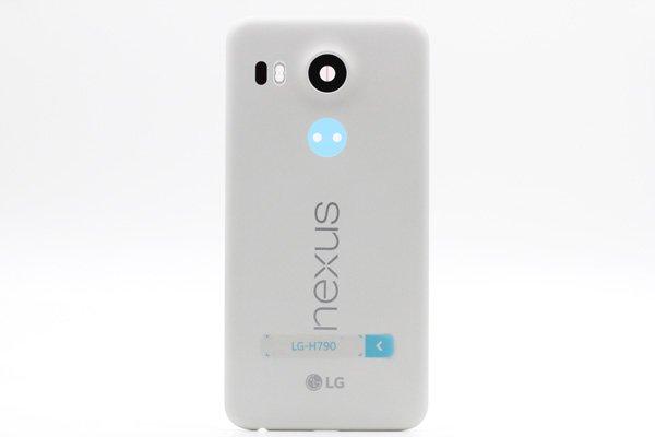 【ネコポス送料無料】Google Nexus5X バックカバーASSY ホワイト [1]