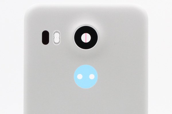 【ネコポス送料無料】Google Nexus5X バックカバーASSY ホワイト [3]