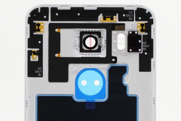 【ネコポス送料無料】Google Nexus5X バックカバーASSY ホワイト [4]