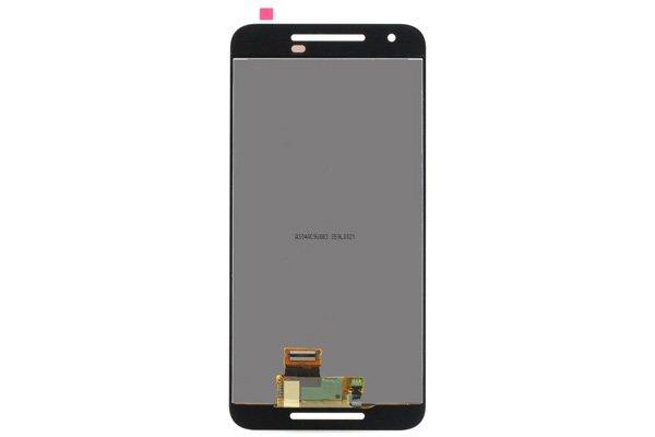Google Nexus5X フロントパネル ブラック 交換修理 [2]