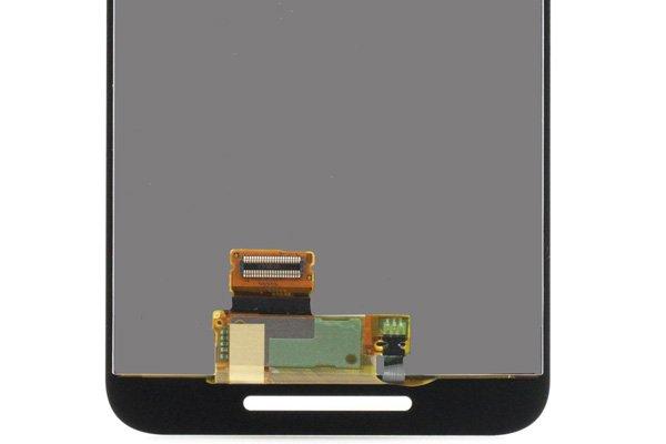 Google Nexus5X フロントパネル ブラック 交換修理 [4]