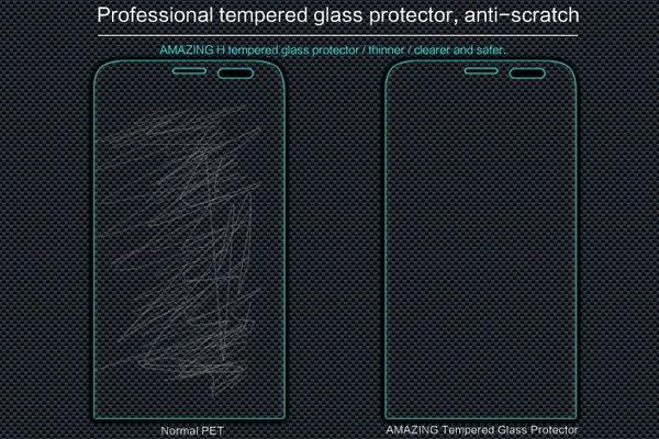 【ネコポス送料無料】Zenfone2 Laser (ZE601KL) 強化ガラスフィルム ナノコーティング 硬度9H  [4]