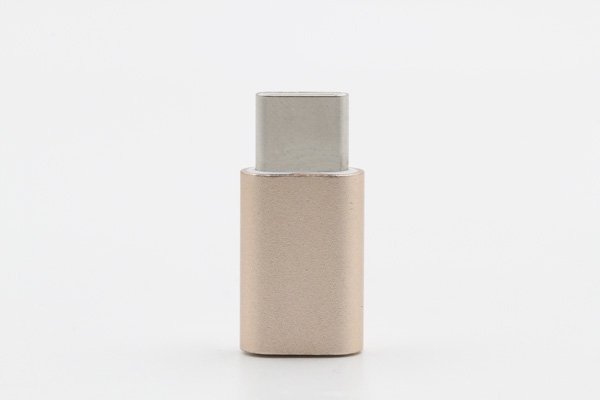 【ネコポス送料無料】USB 2.0 Micro B(メス) to TypeC 変換アダプタ 全4色 [4]