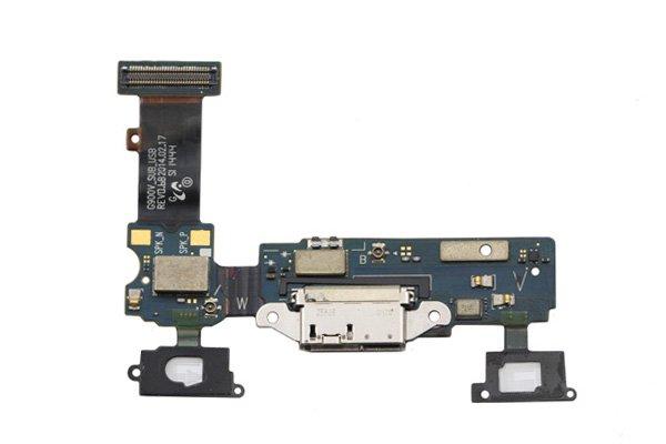 【ネコポス送料無料】Galaxy S5 (SM-G900V) マイクロUSBコネクターケーブルASSY [1]