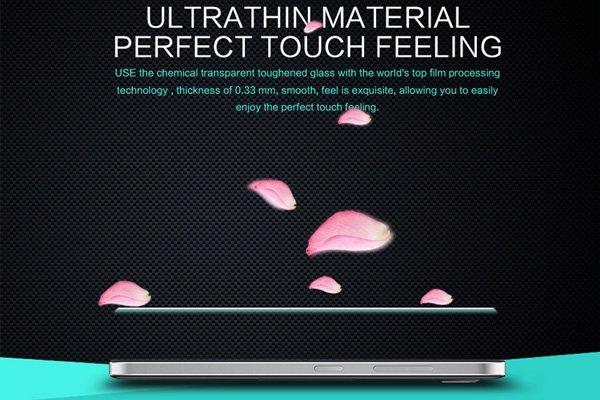 【ネコポス送料無料】Microsoft LUMIA650 強化ガラスフィルム ナノコーティング 硬度9H  [6]