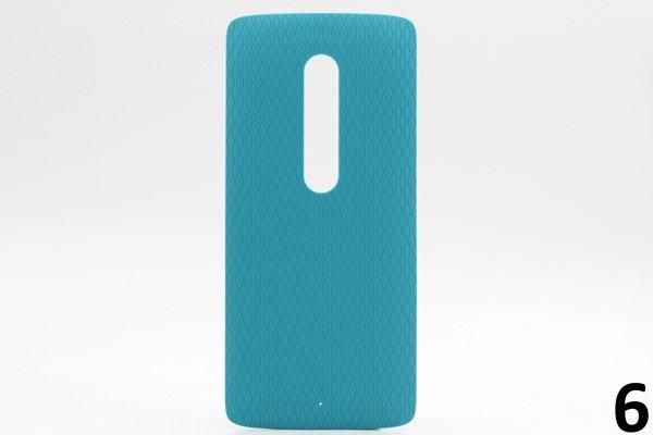 【ネコポス送料無料】Motorola Moto X Play (XT1562) バックカバー 全9色 [11]