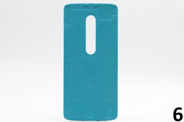 【ネコポス送料無料】Motorola Moto X Play (XT1562) バックカバー 全9色 [12]