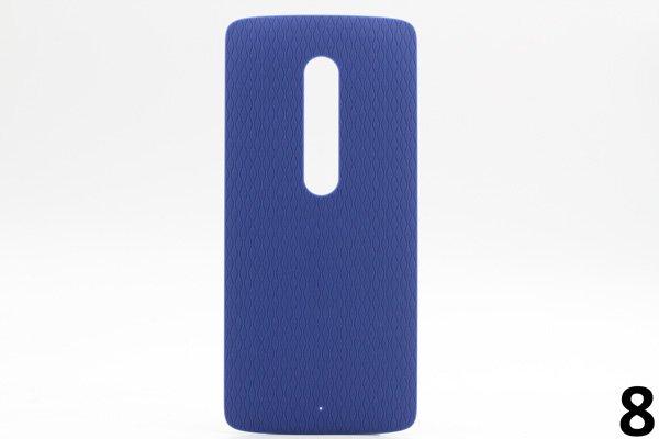 【ネコポス送料無料】Motorola Moto X Play (XT1562) バックカバー 全9色 [15]