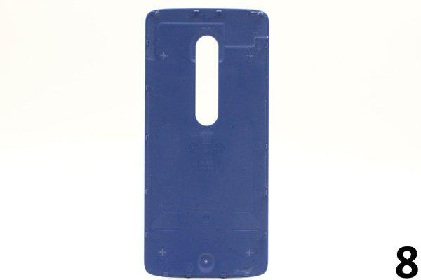 【ネコポス送料無料】Motorola Moto X Play (XT1562) バックカバー 全9色 [16]