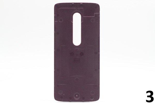 【ネコポス送料無料】Motorola Moto X Play (XT1562) バックカバー 全9色 [6]