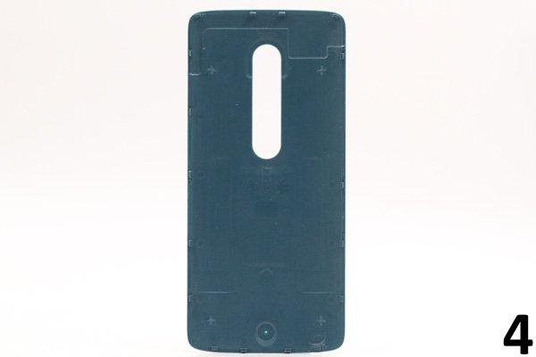 【ネコポス送料無料】Motorola Moto X Play (XT1562) バックカバー 全9色 [8]