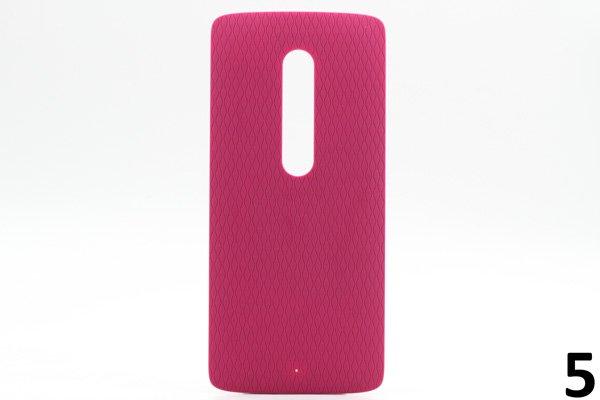 【ネコポス送料無料】Motorola Moto X Play (XT1562) バックカバー 全9色 [9]