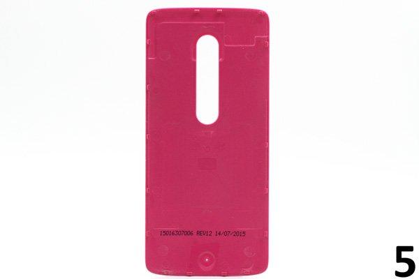 【ネコポス送料無料】Motorola Moto X Play (XT1562) バックカバー 全9色 [10]