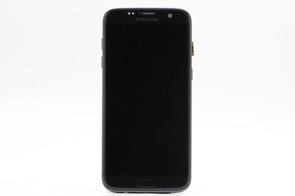 Galaxy S7 Edge (SM-G935F) フロントパネルASSY ブラック [1]