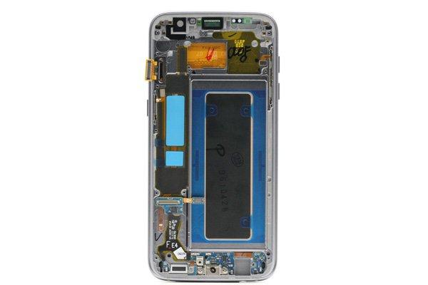Galaxy S7 Edge (SM-G935F) フロントパネルASSY ブラック [2]