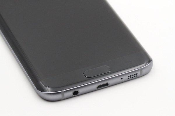Galaxy S7 Edge (SM-G935F) フロントパネルASSY ブラック [8]