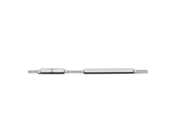【ネコポス送料無料】Huawei Ascend Mate7 電源 & 音量ボタン シルバー [1]