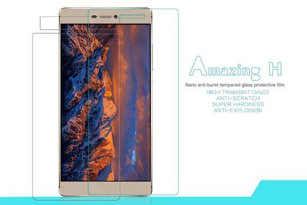 【ネコポス送料無料】Huawei P8 強化ガラスフィルム ナノコーティング 硬度9H  [1]