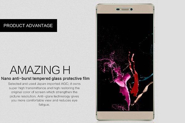 【ネコポス送料無料】Huawei P8 強化ガラスフィルム ナノコーティング 硬度9H  [2]
