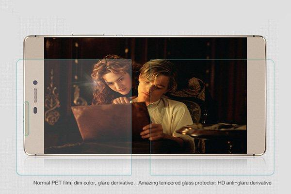 【ネコポス送料無料】Huawei P8 強化ガラスフィルム ナノコーティング 硬度9H  [3]