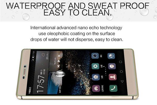【ネコポス送料無料】Huawei P8 強化ガラスフィルム ナノコーティング 硬度9H  [5]