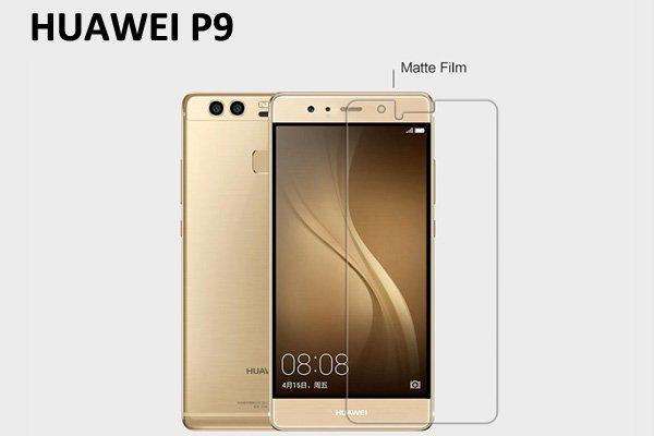 【ネコポス送料無料】Huawei P9 液晶保護フィルムセット アンチグレアタイプ  [1]