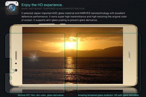 【ネコポス送料無料】Huawei G9 Lite 強化ガラスフィルム ナノコーティング 硬度9H  [3]
