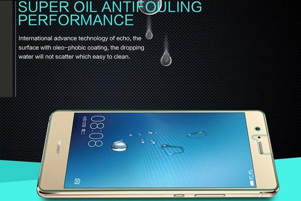 【ネコポス送料無料】Huawei G9 Lite 強化ガラスフィルム ナノコーティング 硬度9H  [5]