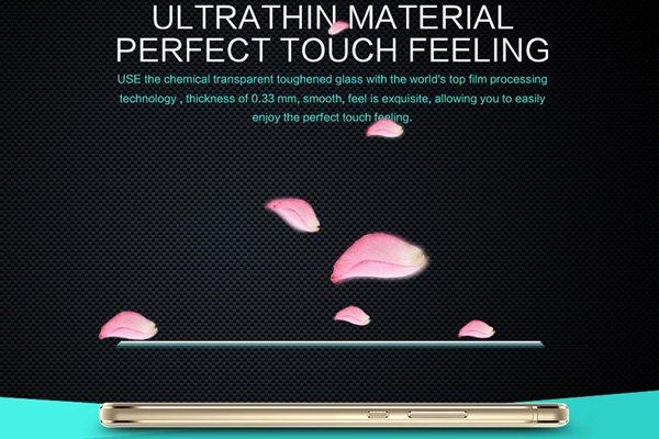 【ネコポス送料無料】Huawei G9 Lite 強化ガラスフィルム ナノコーティング 硬度9H  [6]