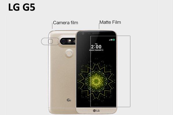 【ネコポス送料無料】LG G5 液晶保護フィルムセット アンチグレアタイプ  [1]