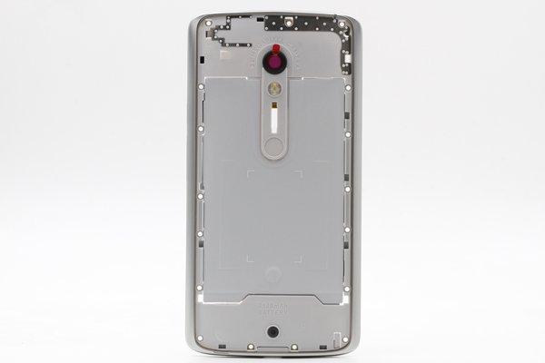 【ネコポス送料無料】Motorola Moto X Play (XT1562) ミドルケースASSY ホワイト用 [2]