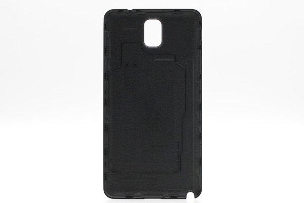 【ネコポス送料無料】Galaxy Note3 (SM-N900V) バッテリーカバー ブラック [2]