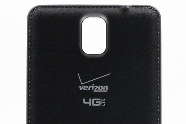 【ネコポス送料無料】Galaxy Note3 (SM-N900V) バッテリーカバー ブラック [3]