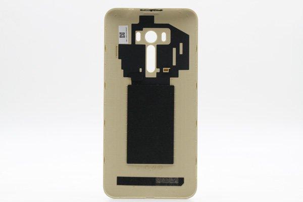 【ネコポス送料無料】ASUS ZenFone Selfie (ZD551KL) バックカバー ゴールド [2]