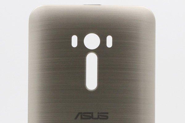 【ネコポス送料無料】ASUS ZenFone Selfie (ZD551KL) バックカバー ゴールド [3]