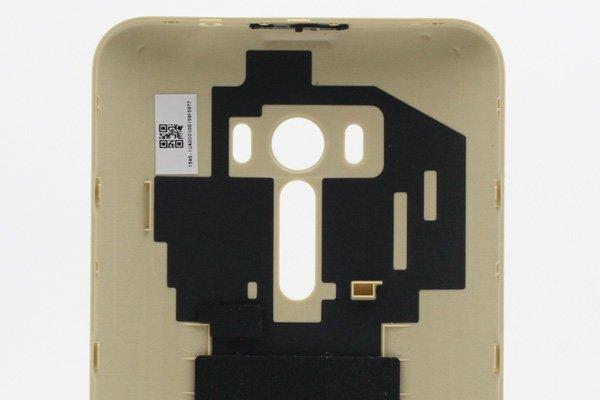 【ネコポス送料無料】ASUS ZenFone Selfie (ZD551KL) バックカバー ゴールド [4]