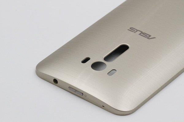 【ネコポス送料無料】ASUS ZenFone Selfie (ZD551KL) バックカバー ゴールド [5]