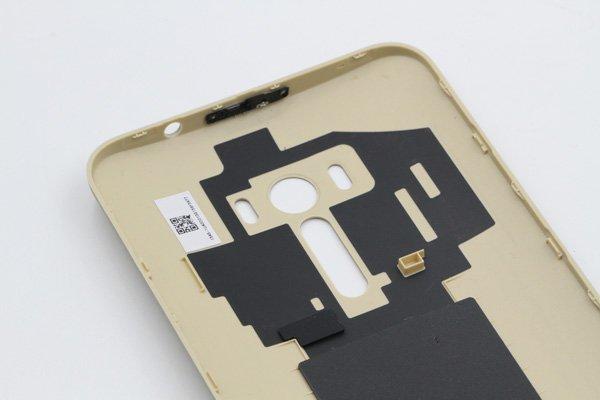 【ネコポス送料無料】ASUS ZenFone Selfie (ZD551KL) バックカバー ゴールド [6]