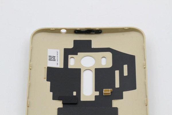 【ネコポス送料無料】ASUS ZenFone Selfie (ZD551KL) バックカバー ゴールド [8]