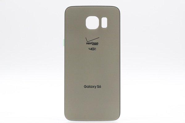 【ネコポス送料無料】Galaxy S6 (SM-G920V) バックカバー 全3色 [1]