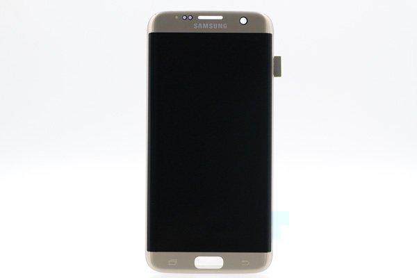 Galaxy S7 Edge (SM-G935F) フロントパネル ゴールド [1]