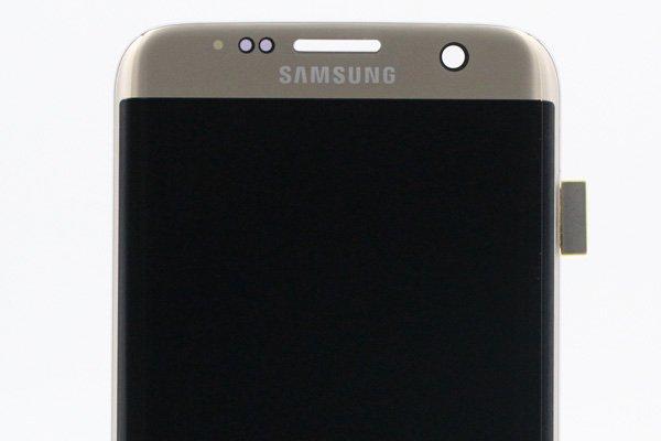 Galaxy S7 Edge (SM-G935F) フロントパネル ゴールド [3]